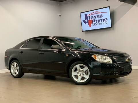 2012 Chevrolet Malibu for sale at Texas Prime Motors in Houston TX