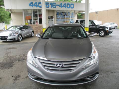 2014 Hyundai Sonata for sale at Elite Auto Sales in Willowick OH