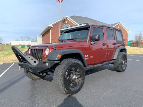 2007 Jeep Wrangler Unlimited for sale at HillView Motors in Shepherdsville KY