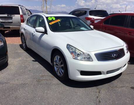 2009 Infiniti G37 Sedan for sale at SPEND-LESS AUTO in Kingman AZ