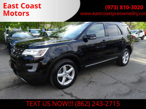 2016 Ford Explorer for sale at East Coast Motors in Lake Hopatcong NJ