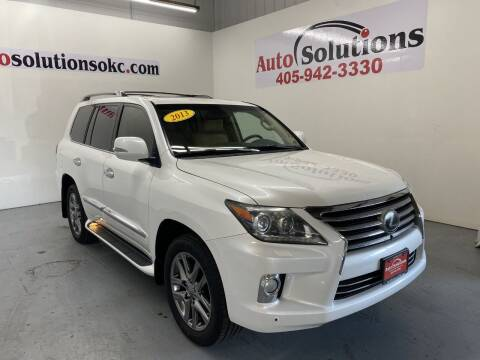 2013 Lexus LX 570 for sale at Auto Solutions in Warr Acres OK
