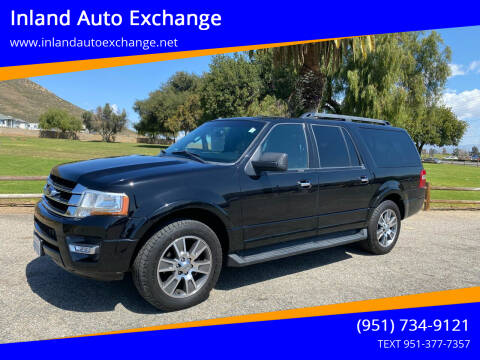 2017 Ford Expedition EL for sale at Inland Auto Exchange in Norco CA