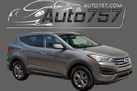 2016 Hyundai Santa Fe Sport for sale at Auto 757 in Norfolk VA