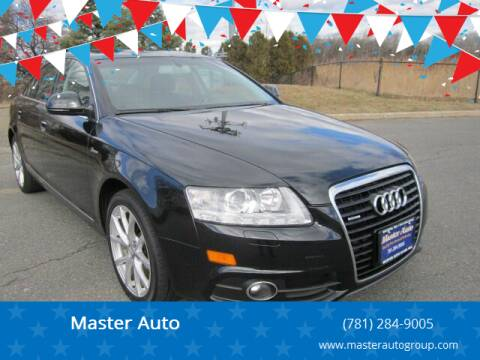 2011 Audi A6 for sale at Master Auto in Revere MA