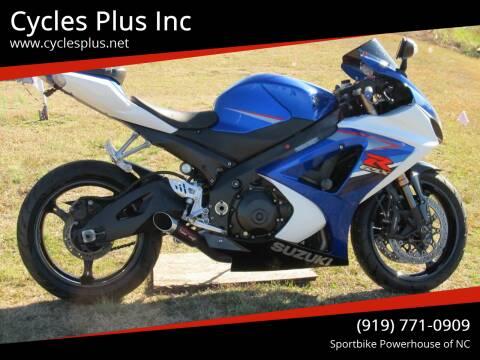2007 Suzuki GSXR 1000 for sale at Cycles Plus Inc in Garner NC