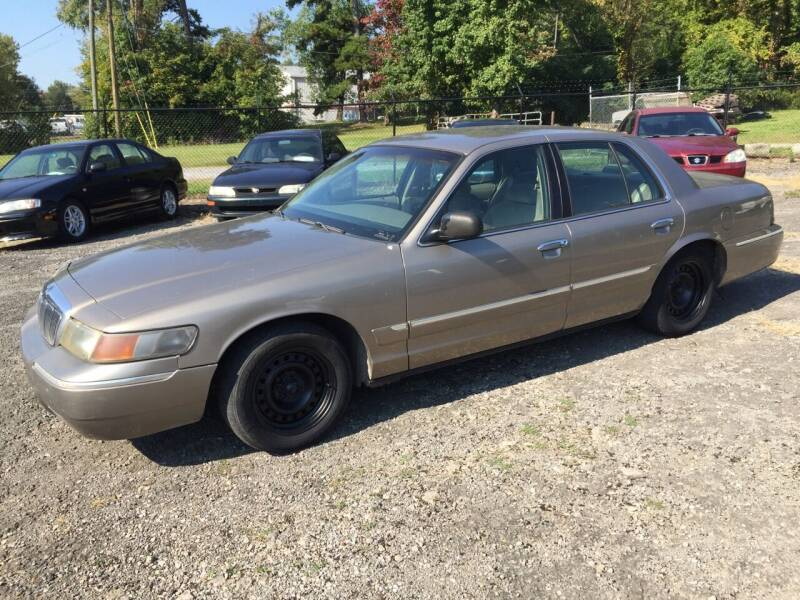 2002 Mercury Grand Marquis for sale at PASTIME AUTO INC. in Knoxville TN