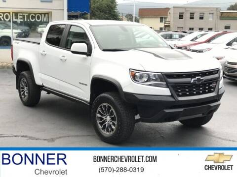 2018 Chevrolet Colorado for sale at Bonner Chevrolet in Kingston PA