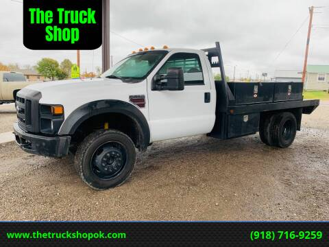 2008 Ford F-550 Super Duty for sale at The Truck Shop in Okemah OK