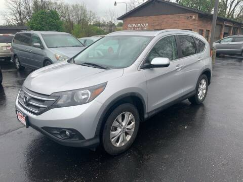 2012 Honda CR-V for sale at Superior Used Cars Inc in Cuyahoga Falls OH