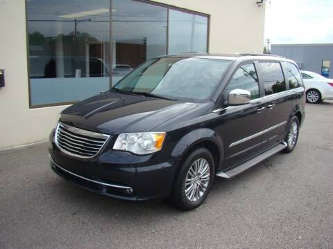 2014 Chrysler Town and Country for sale at Greenville Auto Sales in Warwick RI