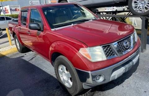 2006 Nissan Frontier for sale at Navarro Auto Motors in Hialeah FL