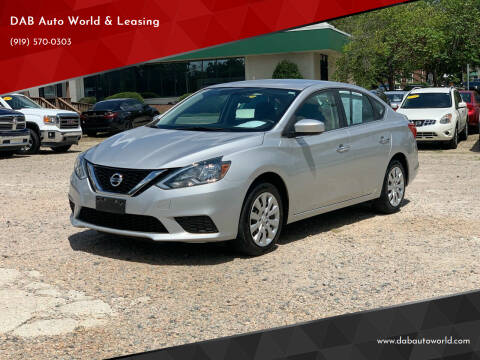 2017 Nissan Sentra for sale at DAB Auto World & Leasing in Wake Forest NC