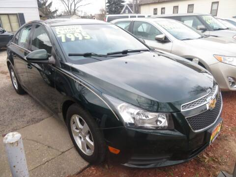 2014 Chevrolet Cruze for sale at Uno's Auto Sales in Milwaukee WI