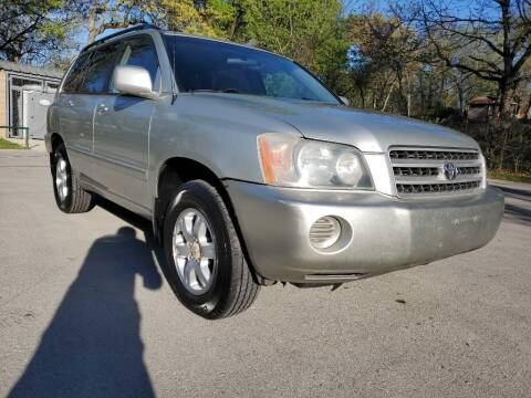 2003 Toyota Highlander for sale at Thornhill Motor Company in Lake Worth TX