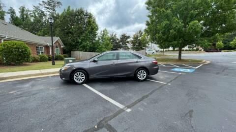 2015 Toyota Camry for sale at A LOT OF USED CARS in Suwanee GA