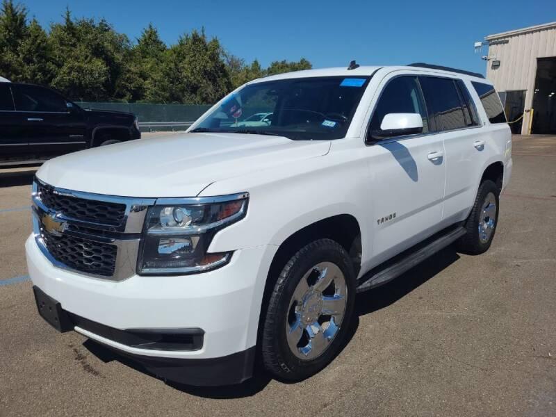 2015 Chevrolet Tahoe for sale at HERMANOS SANCHEZ AUTO SALES LLC in Dallas TX