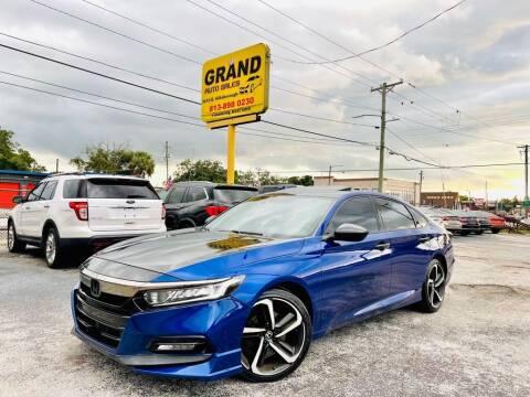 2018 Honda Accord for sale at Grand Auto Sales in Tampa FL