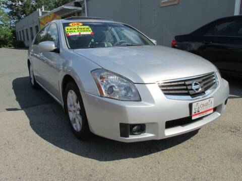 2008 Nissan Maxima for sale at Omega Auto & Truck Center, Inc. in Salem MA