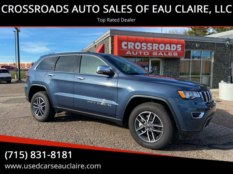2021 Jeep Grand Cherokee for sale at CROSSROADS AUTO SALES OF EAU CLAIRE, LLC in Eau Claire WI