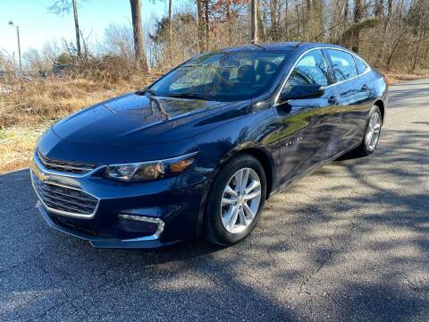 2018 Chevrolet Malibu for sale at Speed Auto Mall in Greensboro NC