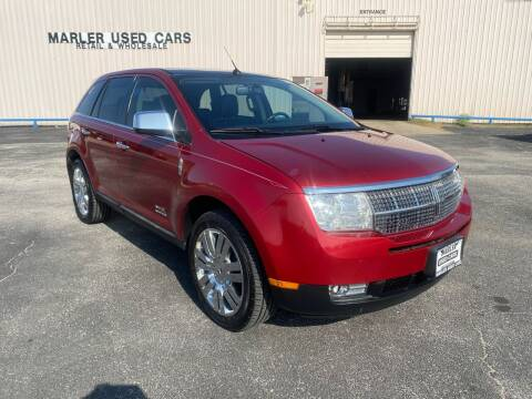 2008 Lincoln MKX for sale at MARLER USED CARS in Gainesville TX