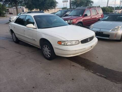 2001 Buick Century for sale at Bad Credit Call Fadi in Dallas TX
