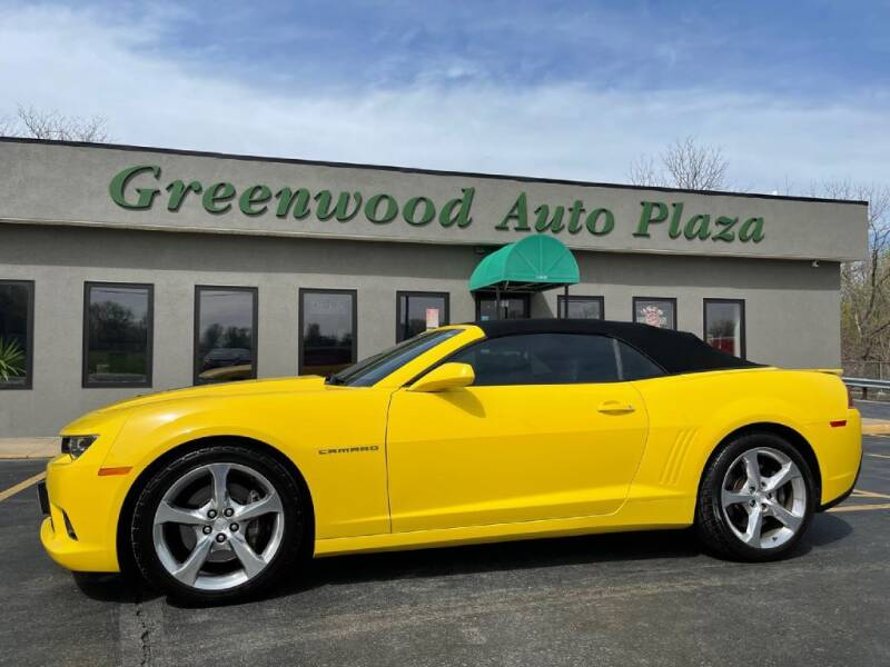 2014 Chevrolet Camaro for sale at Greenwood Auto Plaza in Greenwood MO
