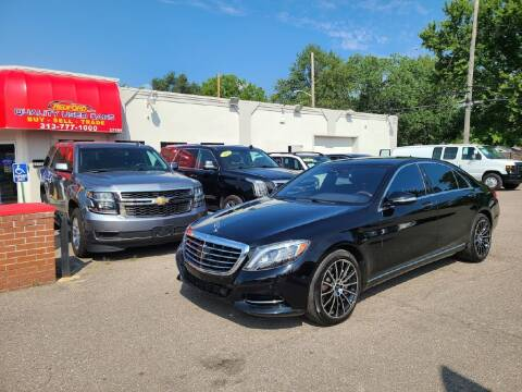 2015 Mercedes-Benz S-Class for sale at Redford Auto Quality Used Cars in Redford MI