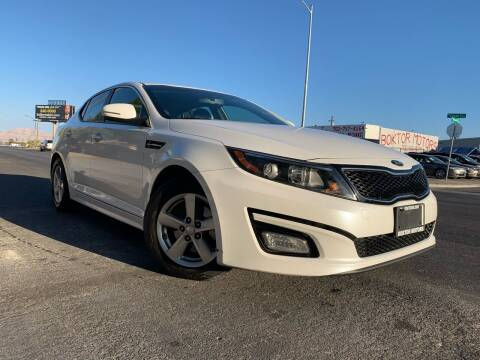 2015 Kia Optima for sale at Boktor Motors in Las Vegas NV