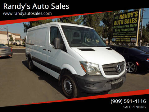 2017 Mercedes-Benz Sprinter Worker for sale at Randy's Auto Sales in Ontario CA