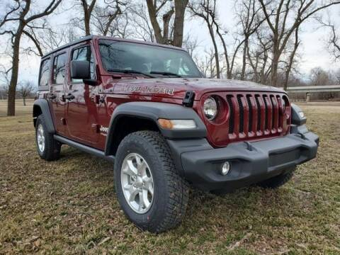 2021 Jeep Wrangler Unlimited for sale at Vance Fleet Services in Guthrie OK