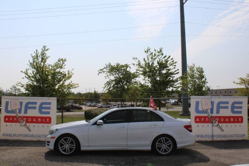 2013 Mercedes-Benz C-Class for sale at LIFE AFFORDABLE AUTO SALES in Columbus OH