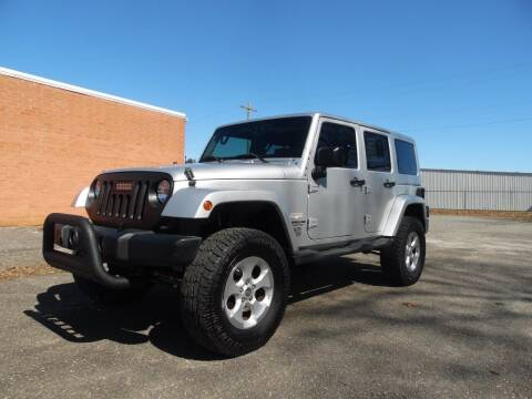 2007 Jeep Wrangler Unlimited for sale at Williams Auto & Truck Sales in Cherryville NC