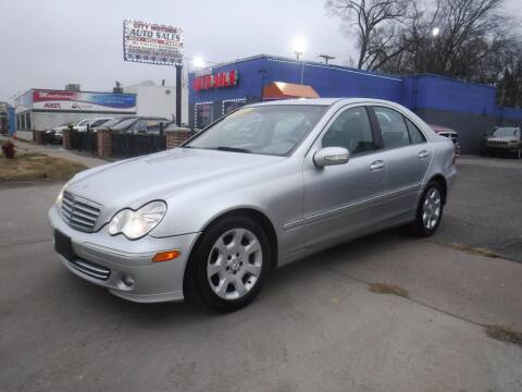 2007 Mercedes-Benz C-Class for sale at City Motors Auto Sale LLC in Redford MI