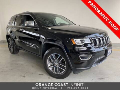 2017 Jeep Grand Cherokee for sale at ORANGE COAST CARS in Westminster CA