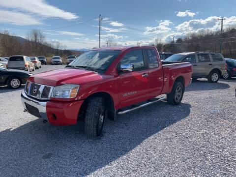 2005 Nissan Titan for sale at Bailey's Auto Sales in Cloverdale VA