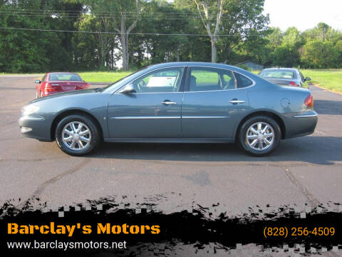 2006 Buick LaCrosse for sale at Barclay's Motors in Conover NC