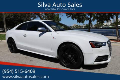 2013 Audi S5 for sale at Silva Auto Sales in Pompano Beach FL