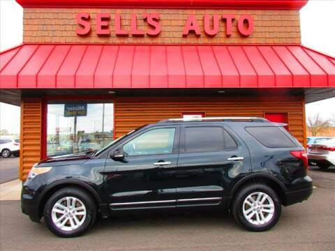 2015 Ford Explorer for sale at Sells Auto INC in Saint Cloud MN