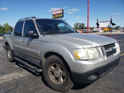 2004 Ford Explorer Sport Trac for sale at speedy auto sales in Indianapolis IN
