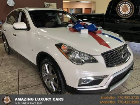 2016 Infiniti QX50 for sale at Amazing Luxury Cars in Snellville GA