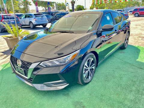 2021 Nissan Sentra for sale at San Jose Auto Outlet in San Jose CA