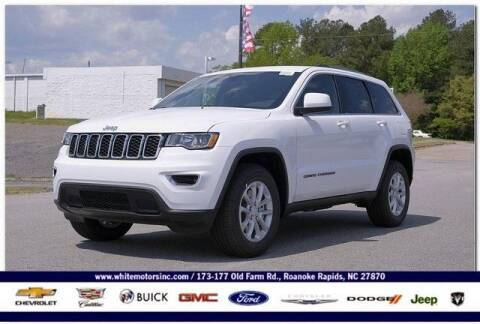 2021 Jeep Grand Cherokee for sale at WHITE MOTORS INC in Roanoke Rapids NC