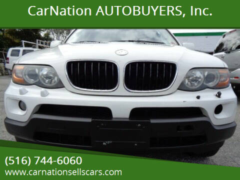 2006 BMW X5 for sale at CarNation AUTOBUYERS, Inc. in Rockville Centre NY