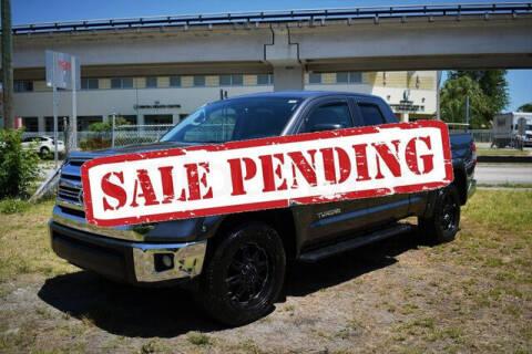 2016 Toyota Tundra for sale at ELITE MOTOR CARS OF MIAMI in Miami FL