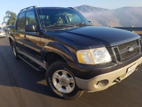 2001 Ford Explorer Sport Trac for sale at Trini-D Auto Sales Center in San Diego CA