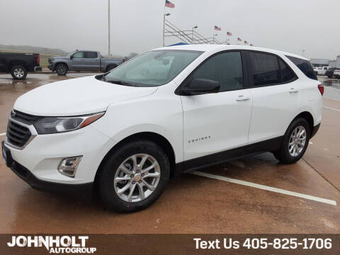 2021 Chevrolet Equinox for sale at JOHN HOLT AUTO GROUP, INC. in Chickasha OK