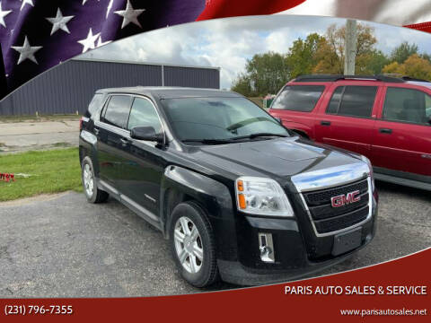 2015 GMC Terrain for sale at Paris Auto Sales & Service in Big Rapids MI
