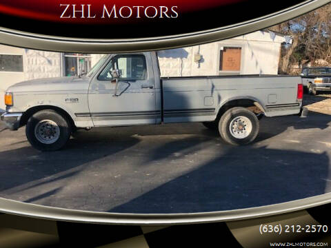 1991 Ford F-150 for sale at ZHL Motors in House Springs MO